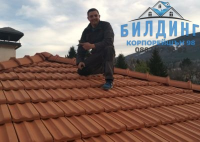 Ремонт на покрив обект с. Бистрица