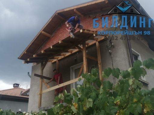 Ремонт на покрив в София (бул. Витоша 76)