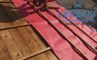 Покриви от меки материали – как да направим висококачествен ремонт ?