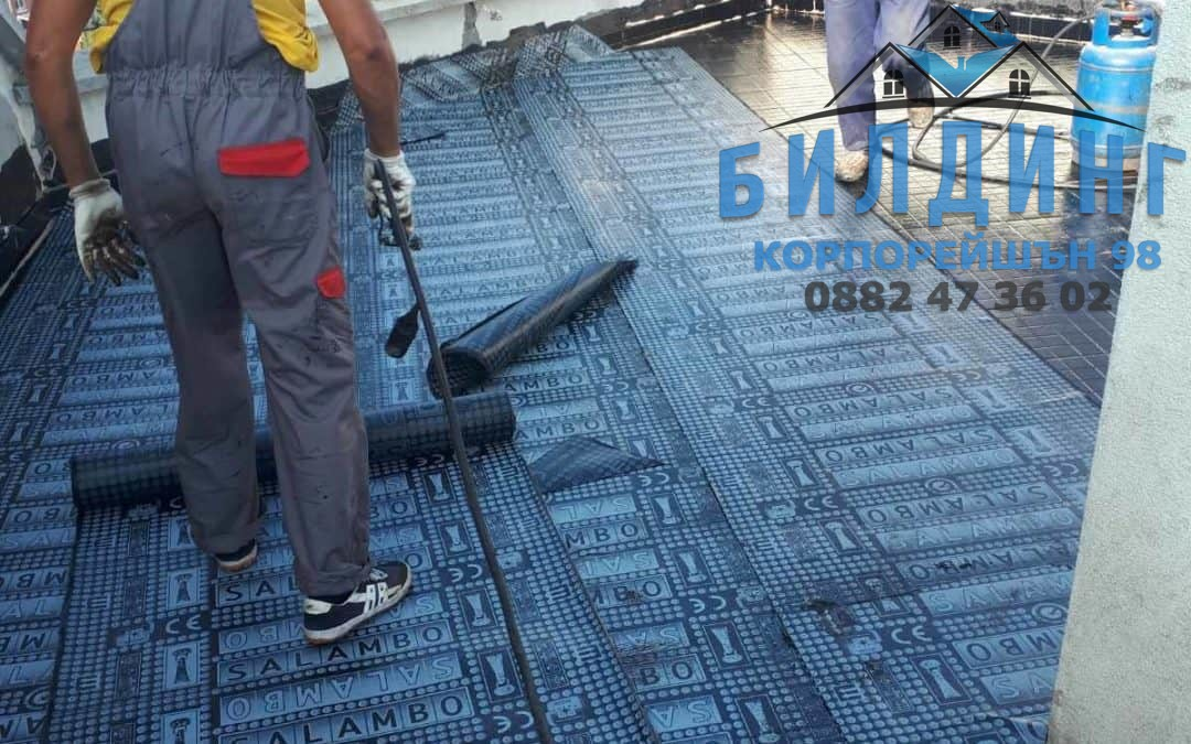 Специалисти по ремонт на покрив град София