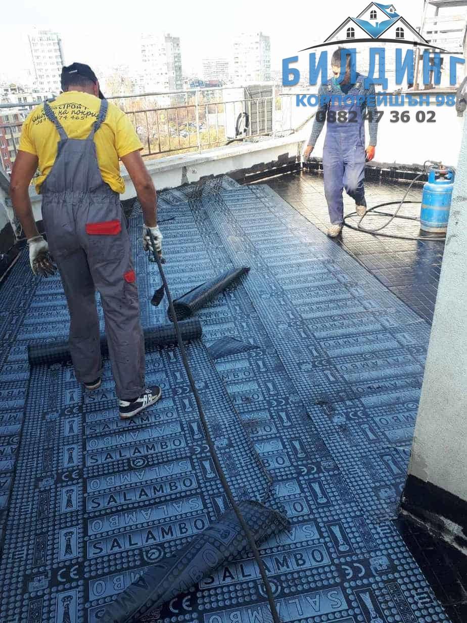 специалисти по ремонт на покриви