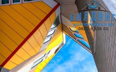 Силикатно стъкло и поликарбонат – покривни материали и конструкции