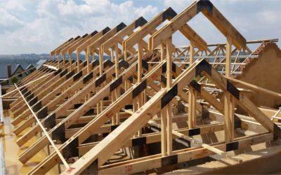 Къщи с асиметричен покрив и нестандартна визия.