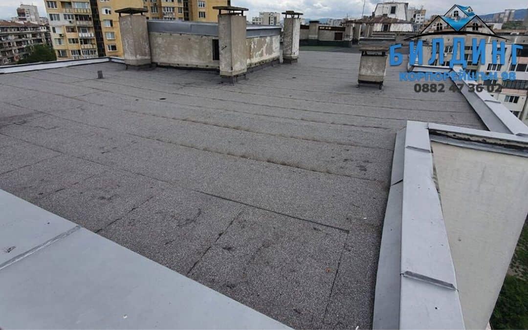 Как водни петна по тавана дават индикация, че е нужен ремонт на покрив