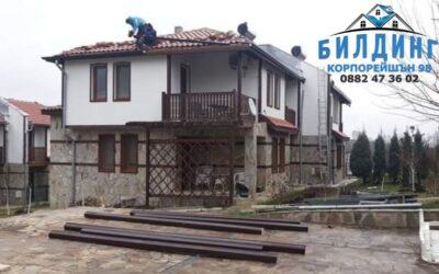Нов покрив на стара къща: как да подравните гредите?