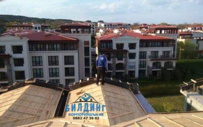 Фирма за ремонт на покриви Русе