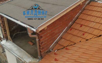 Ремонти на покрив през зимата